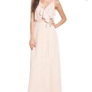 Wayf Jamie ruffle wrap dress xx-small NWT